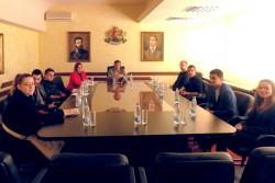 Студенти от МВБУ споделиха с кмета Иван Гавалюгов идеи за развитие на туризма в общината