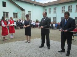 """Днес беше открита новата столова към ОУ """"Христо Ботев"""" с. Лопян"""