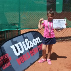 С бронзов медал се завърна Петя Цончева от турнир по тенис на корт