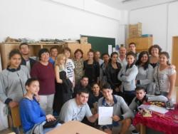 """Ученици от ТПГ """"Стамен Панчев"""" се завърнаха от практика в Румъния"""