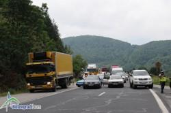 Трафикът от Ботевград към София е по стария път през Витиня