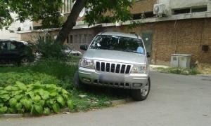Гражданин сигнализира за автомобил, паркиран в зелена площ