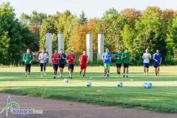 Футболистите тренират, в събота играят контрола