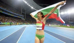 Мирела Демирева спечели сребърен медал в скока на височина