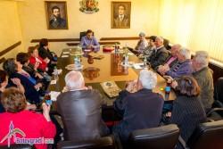 Кметът се срещна с председателите на пенсионерските клубове