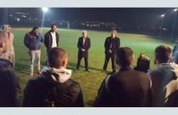 Кметът на Пещера надъхва футболния отбор