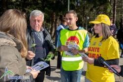 Съвместна акция на полиция, ученици, СБА и Община Ботевград за безопасност на пътя