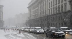 Снежната покривка в София е 20 см
