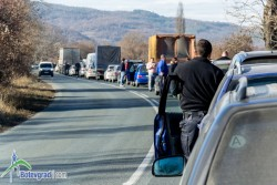 Без алтернативен маршрут при катастрофи на Е-79 между Ботевград и Мездра