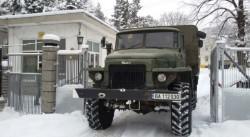 Военните чистят снега в Русенско