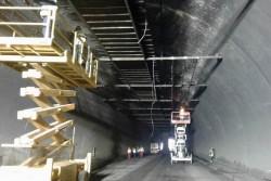 """При пълна 24-часова мобилизация продължава работата в тунел """"Ечемишка"""""""