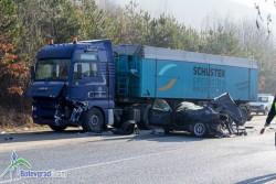 22-годишен загина в тежка катастрофа на Копяновец, трима са ранени /допълнена/
