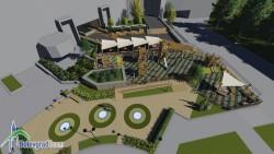 """Общината кандидатства с проект за голяма детска площадка на площад """"Форум"""""""