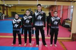 9 състезатели от Таек-кион са в националния отбор по Таекуон-до ИТФ