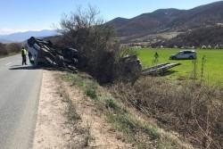 Зрелищна катастрофа е станала на Е-79 между Ботевград и Мездра (допълнена)