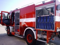 Мъж е пострадал сериозно при пожар