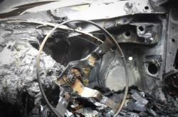 """Откраднат автомобил е открит напълно изгорял в местността """"Чеканица"""""""