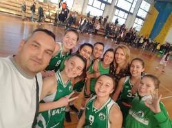Втора победа на девойките на Балкан