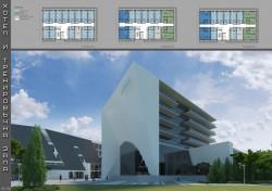 Вижте как изглеждат трите одобрени идейни проекта за хотел и тренировъчна зала към Арена Ботевград