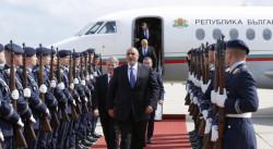 Борисов пристигна в Германия
