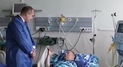 Президентът Радев се срещна с ранените пилоти