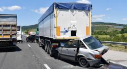 """Обявиха причините за тежката верижна катастрофа на магистрала """"Тракия"""""""