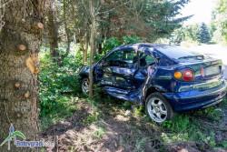 Шофьор без книжа предизвика катастрофа