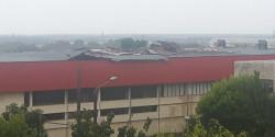 Буря повреди покрива на залата в Стара Загора