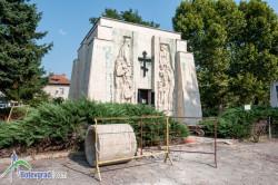 Ремонтират Паметник-костница на Ботевите четници в Скравена