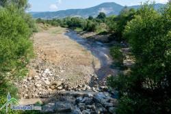 Възстановиха коритото на река Бебреш под двата моста при Скравена