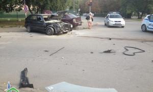 """Катастрофа на светофара на бул """"България"""""""