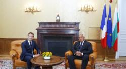 Макрон: Волята на Франция е България да бъде член на Шенген