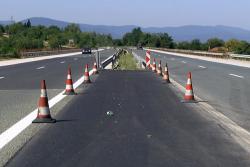 """От 4 септември движението при 51-ви км на АМ """"Хемус"""" ще е двупосочно в платното за Варна"""