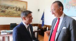 Ген. Константин Попов се срещна с шефа на Европейската агенция по отбрана Хорхе Домек
