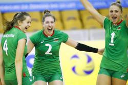 Етрополската волейболистка Полина Нейкова с участие в националния отбор