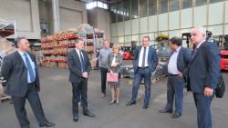 Областният управител организира работна среща с фирми, които имат интерес да правят бизнес в Русия