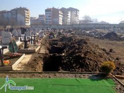 Подписка срещу предварителното изкопаване на гробове