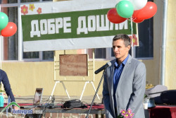 Поздравителен адрес от кмета на общината по повод откриването на новата учебна година