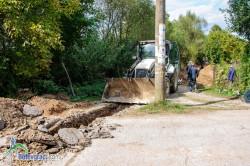 """Извършват подмяна и ремонт на канализацията на улица """"Бистрица"""" в Трудовец"""