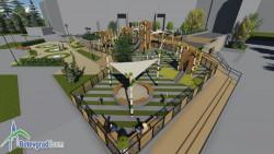 """Проектът за реконструкция на детската площадка на площад """"Форум"""" е стопиран"""
