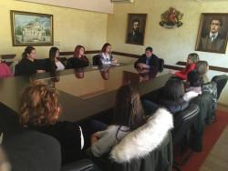 Поредна среща на кмета Гавалюгов със студенти от МВБУ