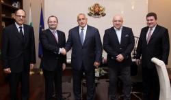 Борисов се ангажира по време на председателството да се търси решение на конфликт в баскетбола