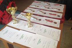 Наградиха победителите в турнира по шах, белот и табла