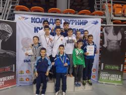 10 медала за Сунг Ри на Коледния турнир в Пловдив