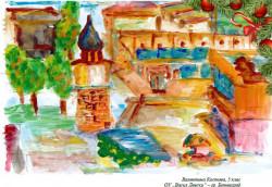 Детска рисунка краси коледната картичка на Община Ботевград