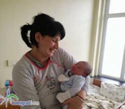 Момченце е първото бебе за 2018-та в Ботевград