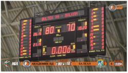 Загуба на Балкан в Пловдив в първия мач за 2018-та