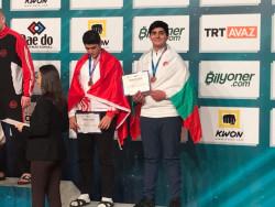 Кристиян Златев отново с медал от голям шампионат