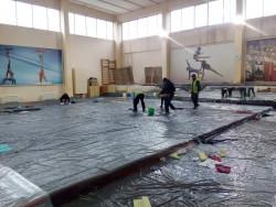 Нов потоп в залата за акробатика