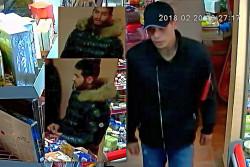 Камери заснеха извършителите на кражба в магазин